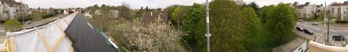 Vue panoramique pignon Est